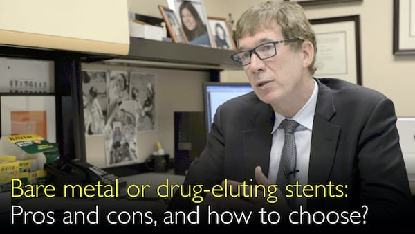 Bare metal stent or drug-eluting coronary artery stent. How to choose the best stent? 9