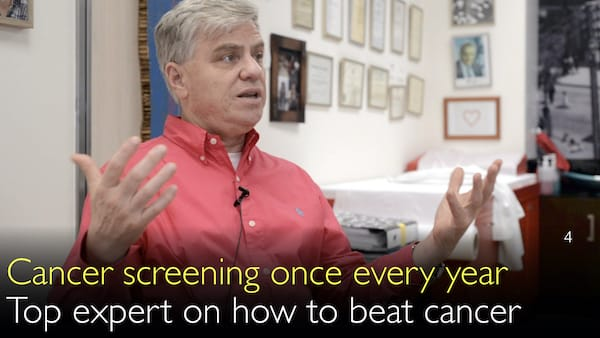 Do cancer screening once every year. How to avoid cancer. 4